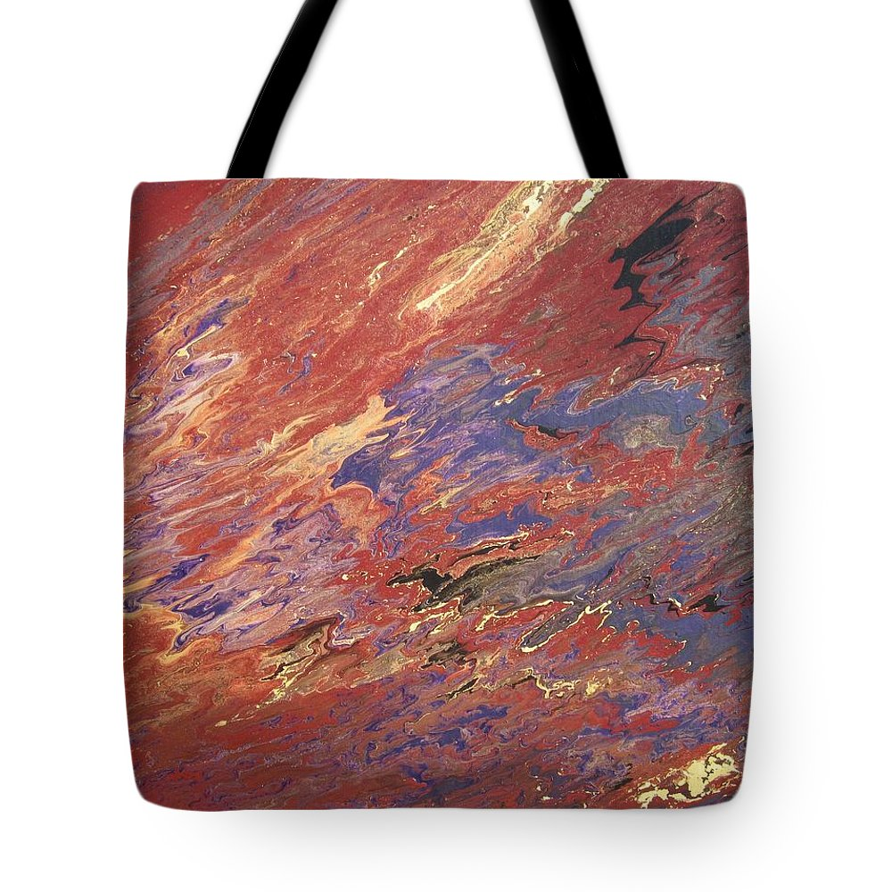 Fusionart Tote Bag featuring the painting Sedona by Ralph White