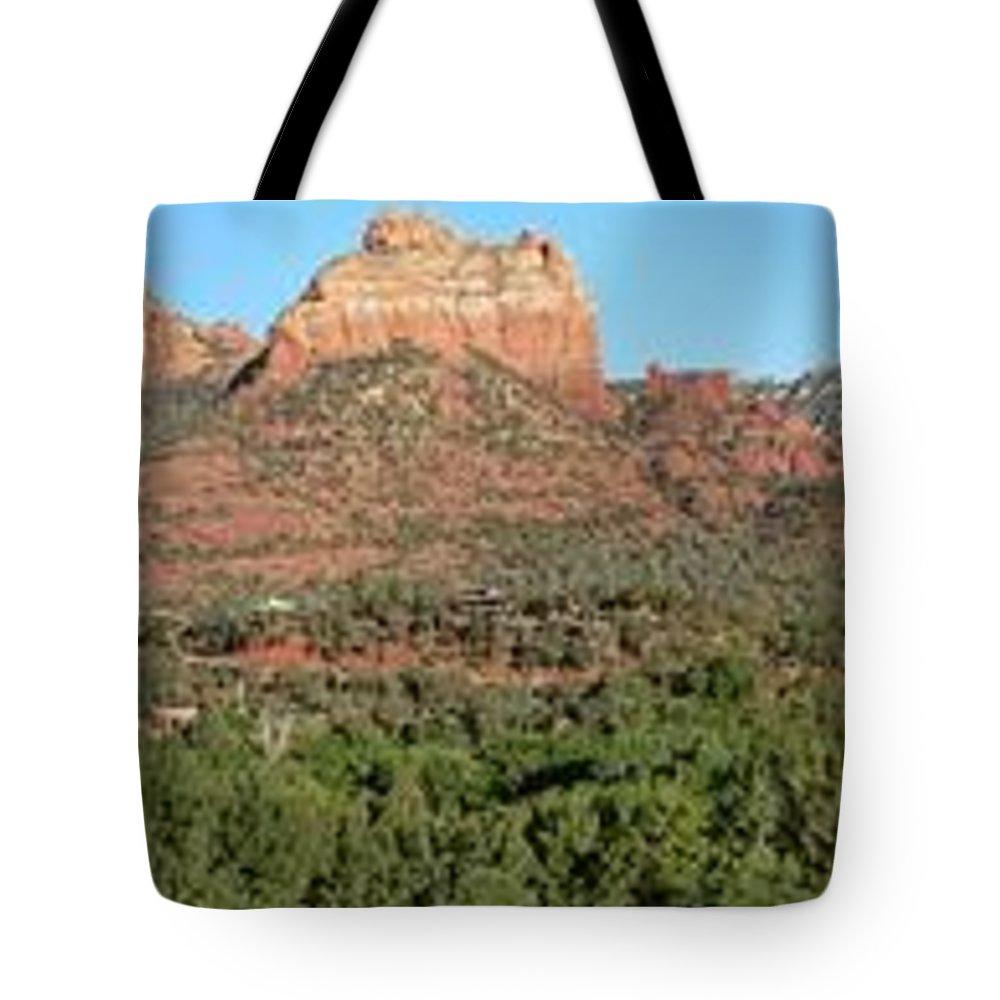 Arizona Tote Bag featuring the photograph Sedona by Steve Ondrus