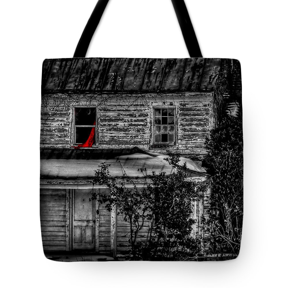 Pungo Tote Bag featuring the photograph Seeing Red by Brenda Giasson