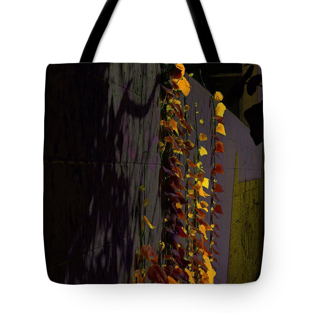 Abstract Tote Bag featuring the photograph Seen In A Different Light by Steve Taylor