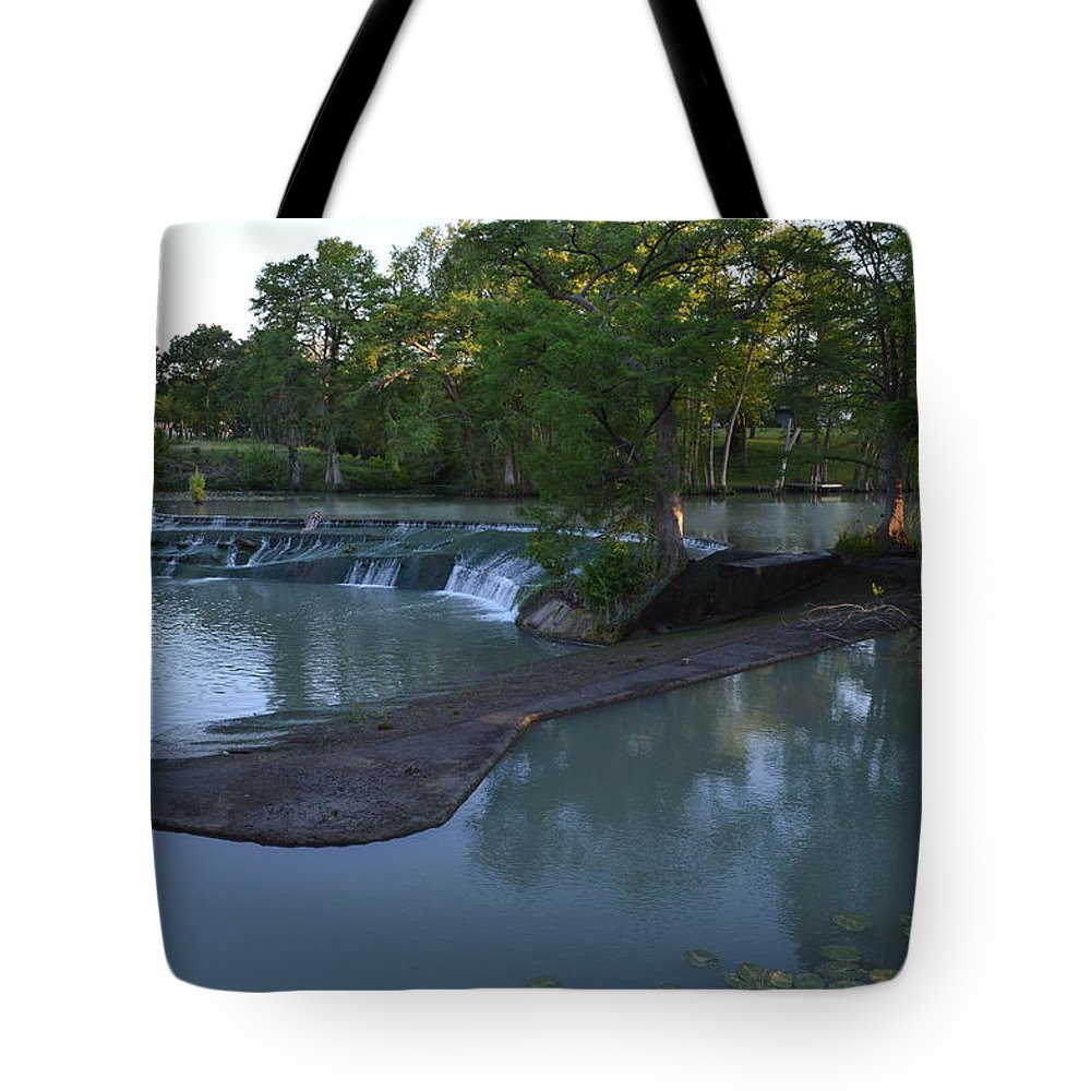 Architectur Tote Bag featuring the photograph Seguin Tx 01 by Shawn Marlow