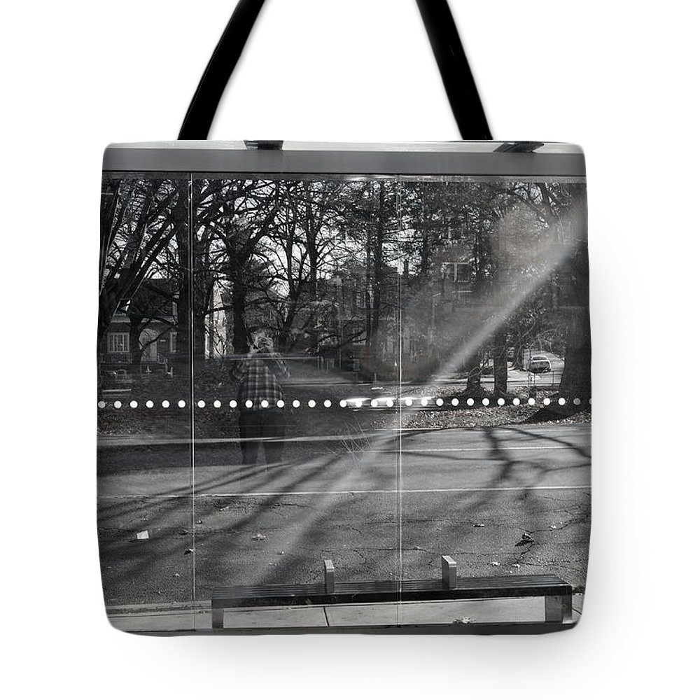 Long Exposure Tote Bag featuring the photograph Self Portrait by Wayne Schmitt