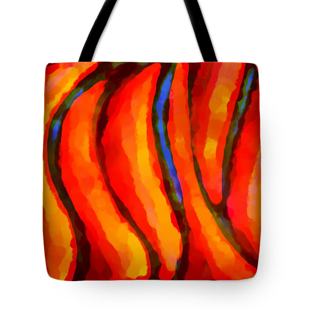 Expressionism Tote Bag featuring the painting Selfspiritual by Marcello Cicchini