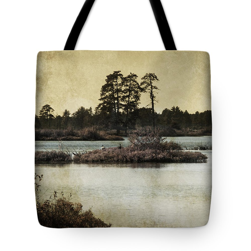 Evie Carrier Tote Bag featuring the photograph Seney Au Lait by Evie Carrier