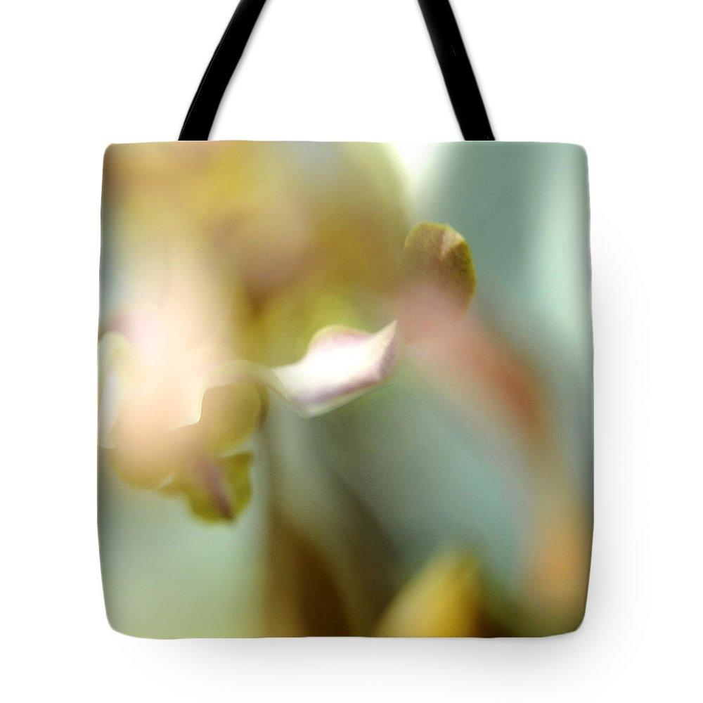 Jenny Rainbow Fine Art Photography Tote Bag featuring the photograph Sensual Touch Of Exotic. Orchid II by Jenny Rainbow