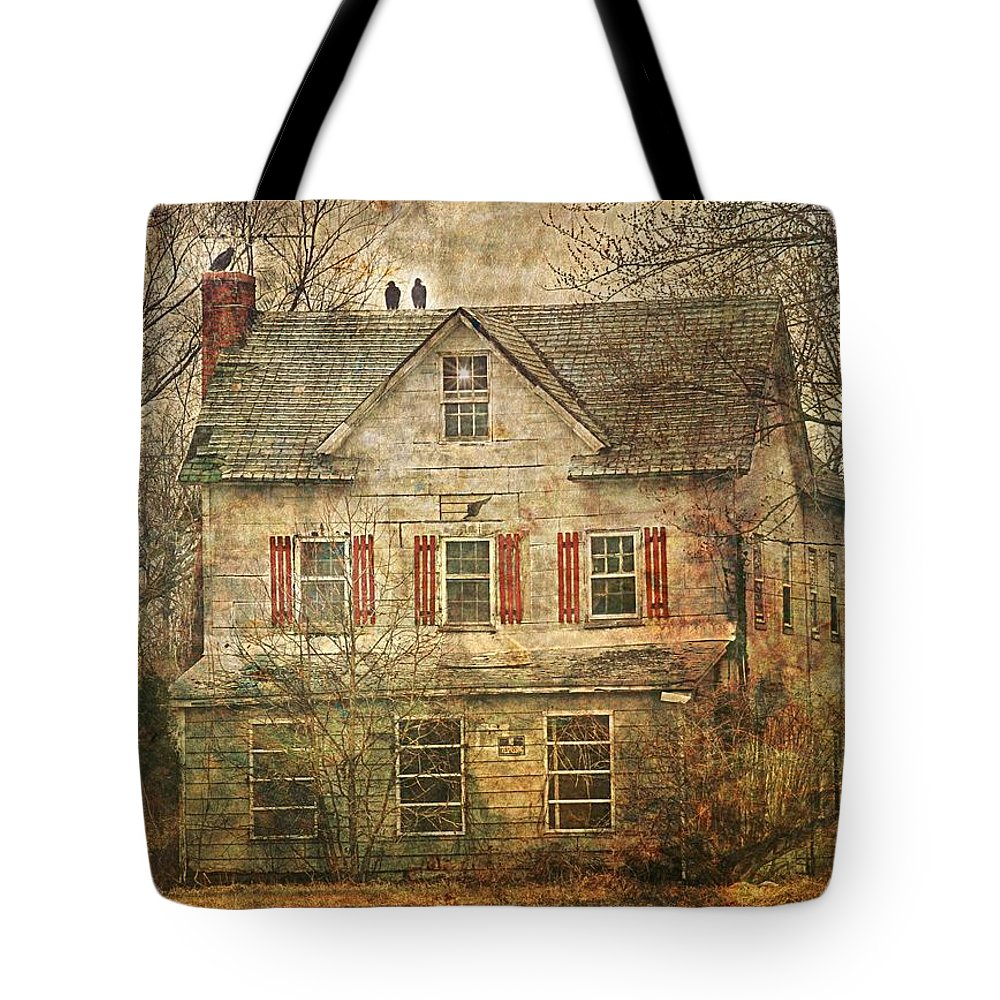 Landscape Tote Bag featuring the photograph Sentinels by Sheryl Bergman