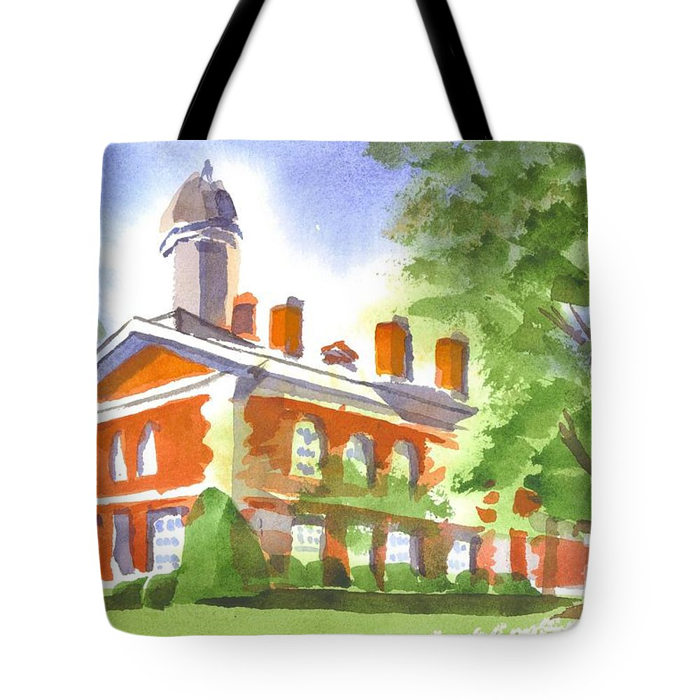 September Afternoon Tote Bag featuring the painting September Afternoon by Kip DeVore