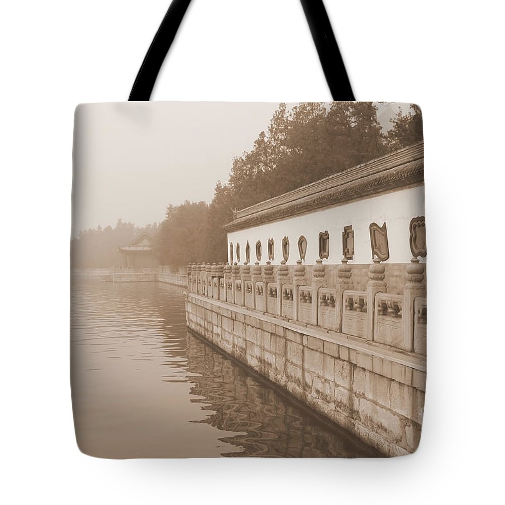 China Tote Bag featuring the photograph Serene Summer Palace Lake by Carol Groenen