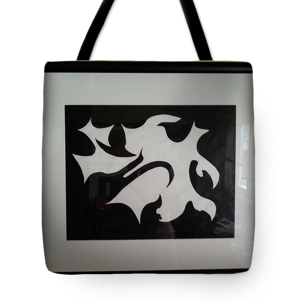 Framed Picture Tote Bag featuring the painting Serenity by Myrtle Joy
