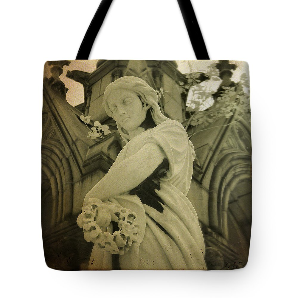 Infrared Photograph Tote Bag featuring the photograph Serenity Now by Gothicrow Images