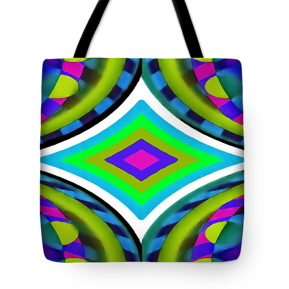 Corporate Tote Bag featuring the digital art Serious Fun by Del Gaizo