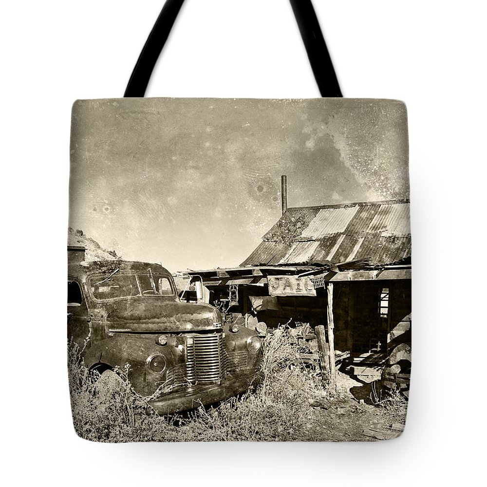 Automotive Tote Bag featuring the photograph Serving Jail Time by Paul Fell
