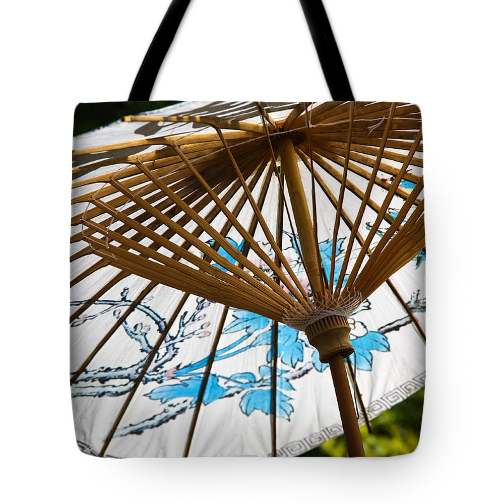 Umbrella Tote Bag featuring the photograph Shade by J Havnen