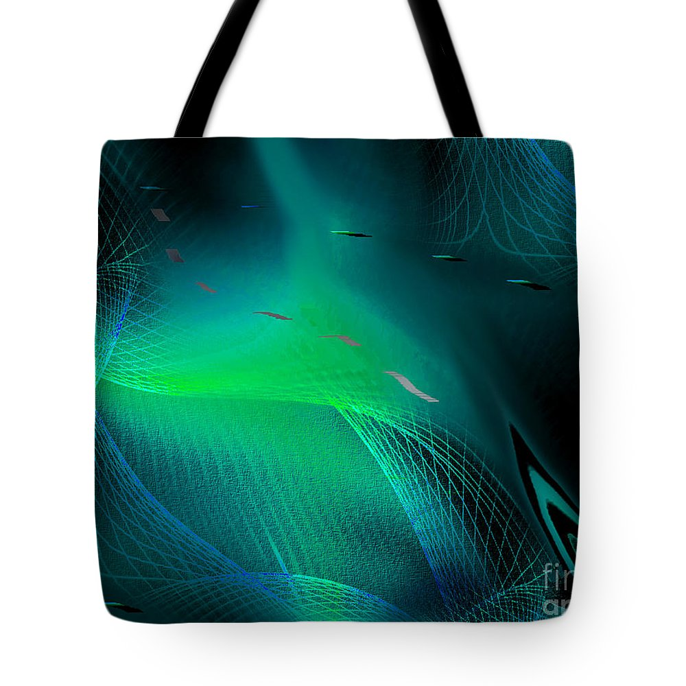 Interior Design Tote Bag featuring the painting Ecstasy by Yul Olaivar