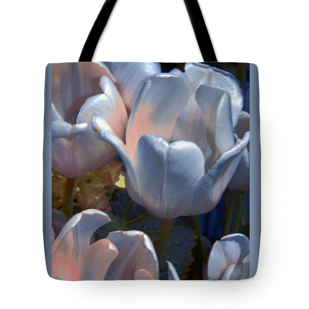 Flower Tote Bag featuring the photograph Shades Of Color by Kathleen Struckle