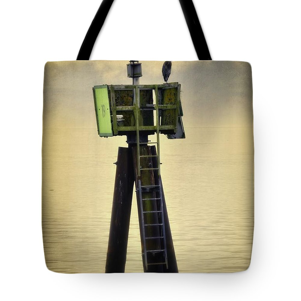 Astoria Tote Bag featuring the photograph Shades Of Yellow by Image Takers Photography LLC - Carol Haddon