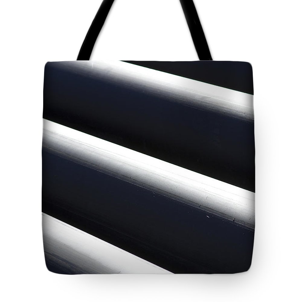 Tubes Tote Bag featuring the photograph Shadow And Light Number 1 by James BO Insogna