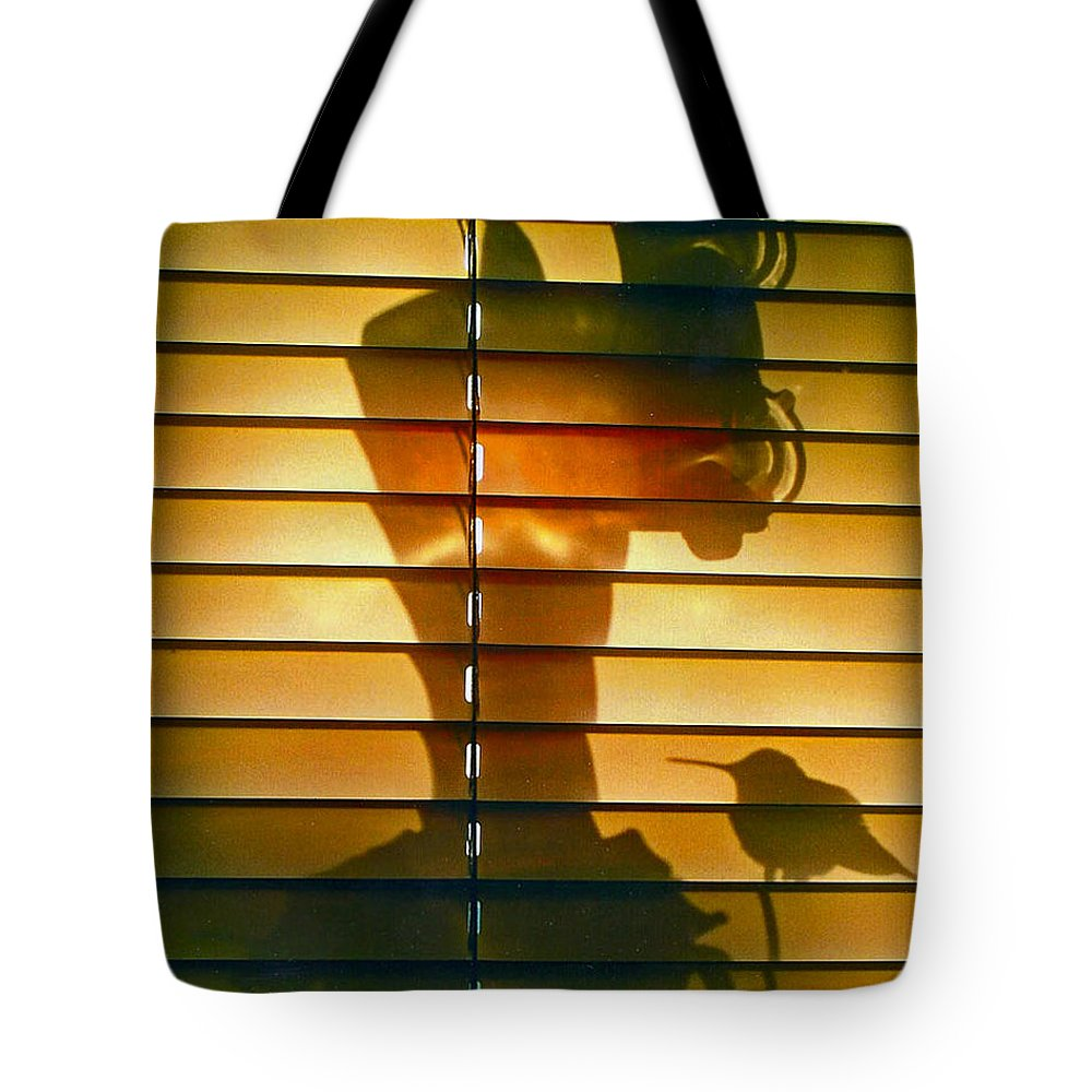 Bird Tote Bag featuring the photograph Shadow Bird by Lorenz Klug