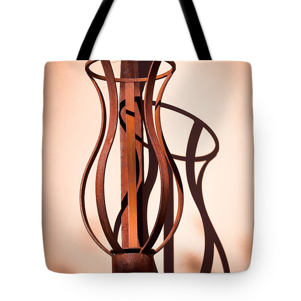 Lantern Tote Bag featuring the photograph Shadow Play by Diane Wood