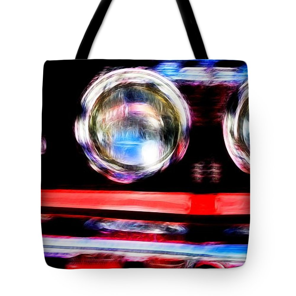 Ford Tote Bag featuring the photograph Shelby Gt 500 Mustang 5 by Tommy Anderson