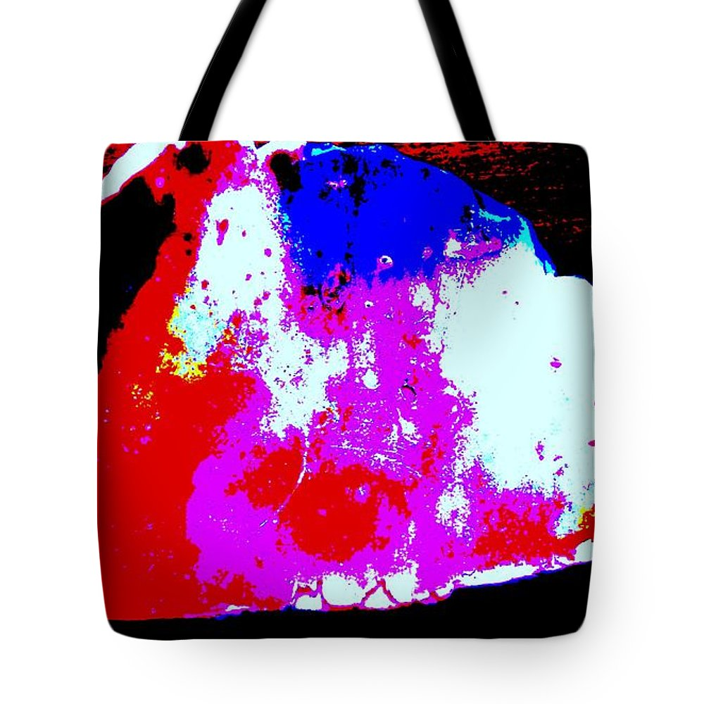 Shell Tote Bag featuring the photograph Shell Abstract by Eric Schiabor