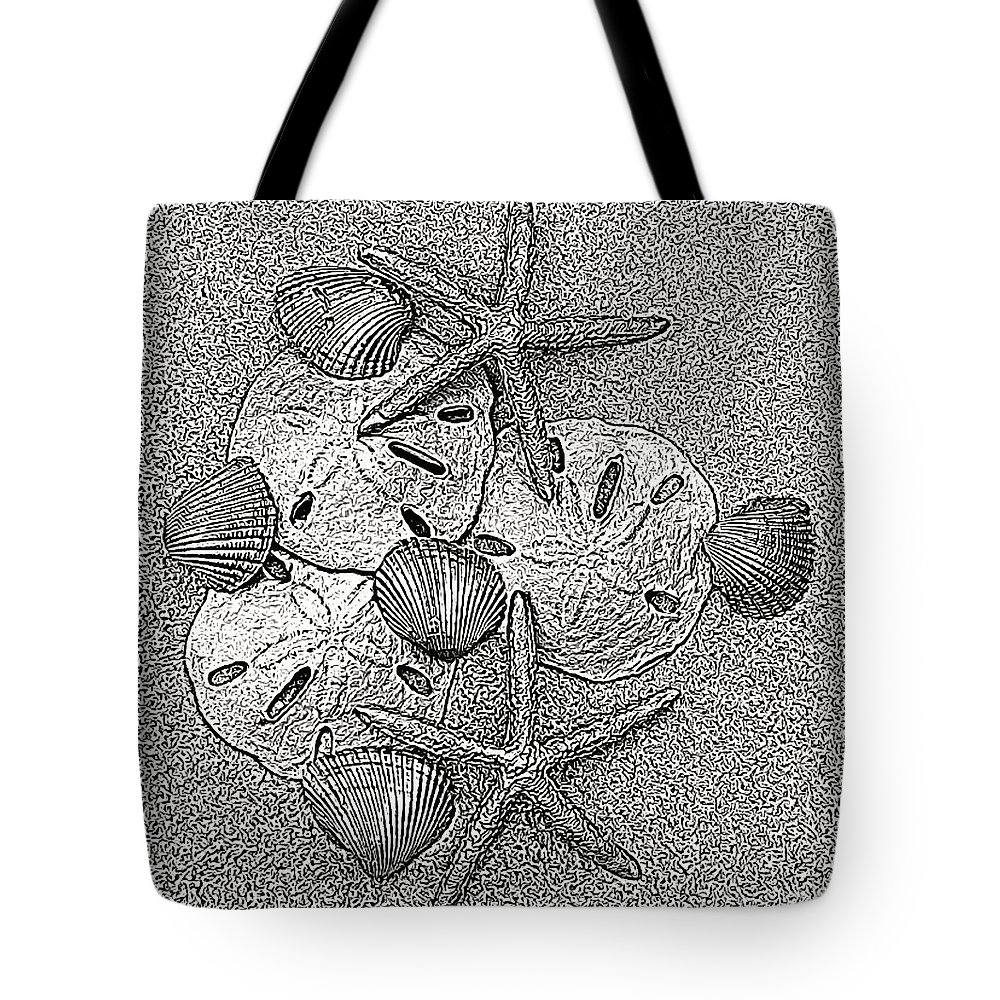 Sunrise Tote Bag featuring the photograph Shell Effects 15 by Michael Anthony