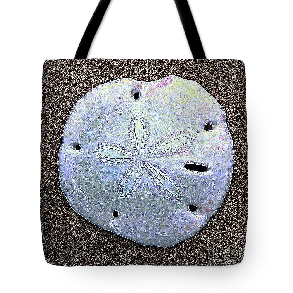 Sunrise Tote Bag featuring the photograph Shell Effects11 by Michael Anthony