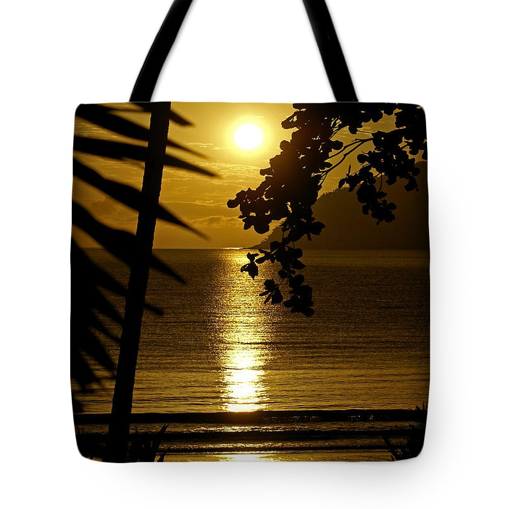 Landscapes Tote Bag featuring the photograph Shimmer by Holly Kempe