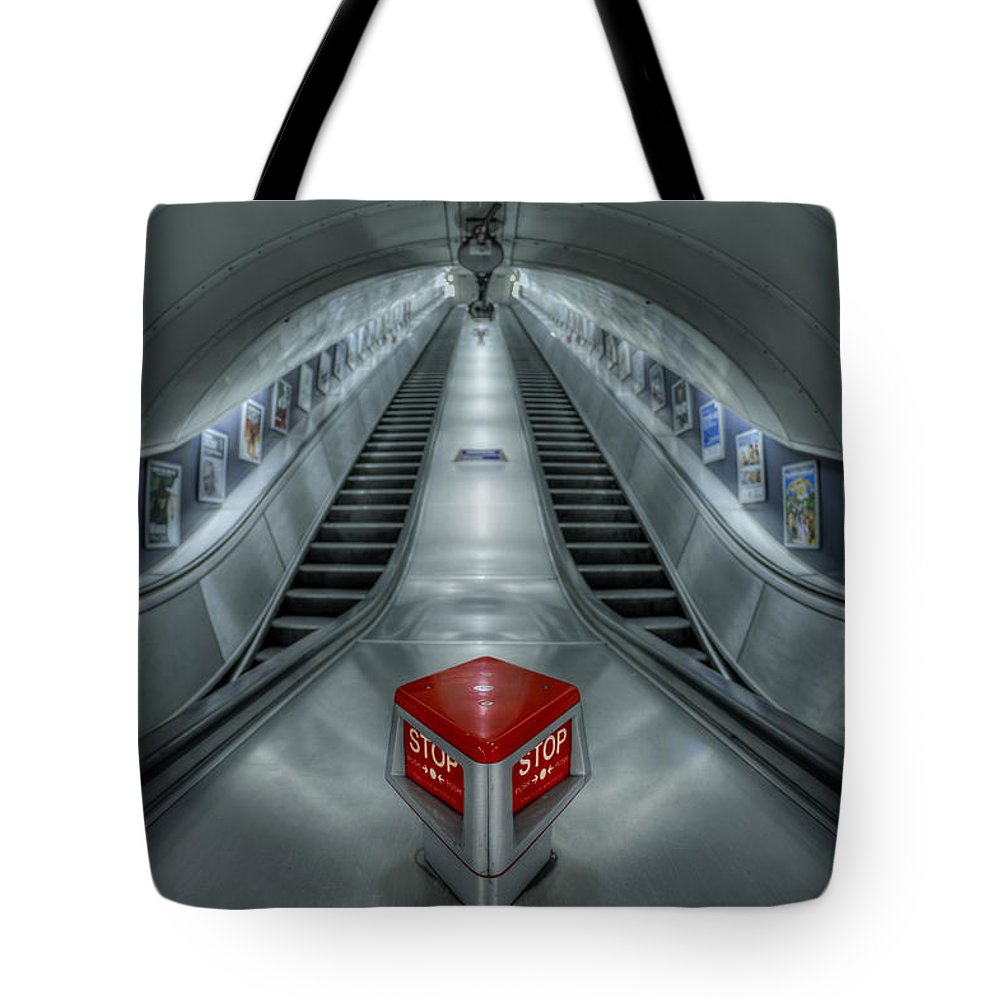 London Tote Bag featuring the photograph Shine In Silver by Evelina Kremsdorf