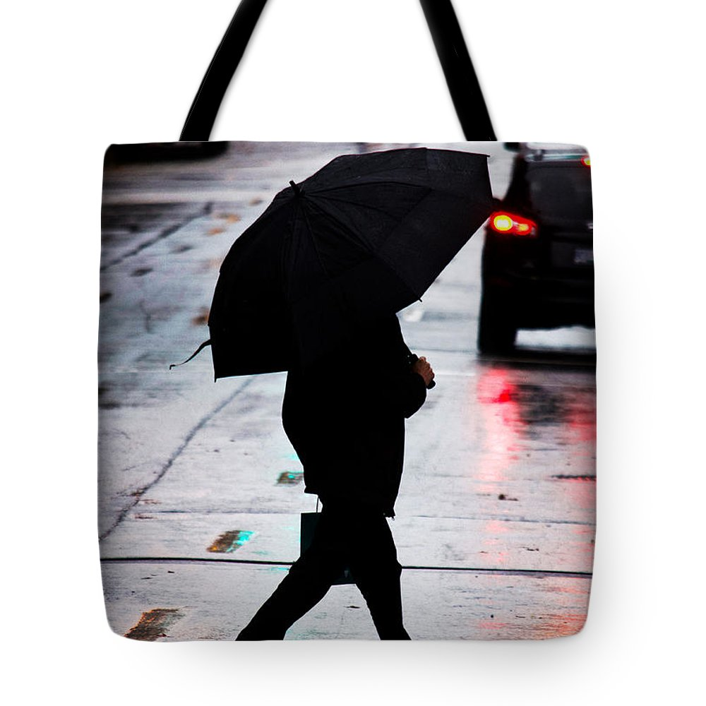 Vancouver Tote Bag featuring the photograph Shine Of Streets by The Artist Project