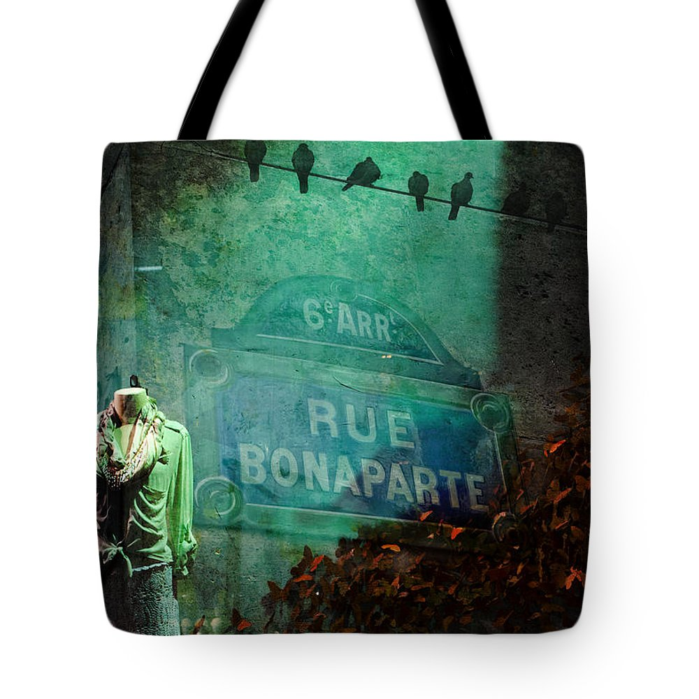 Evie Tote Bag featuring the photograph Shopping In Paris by Evie Carrier