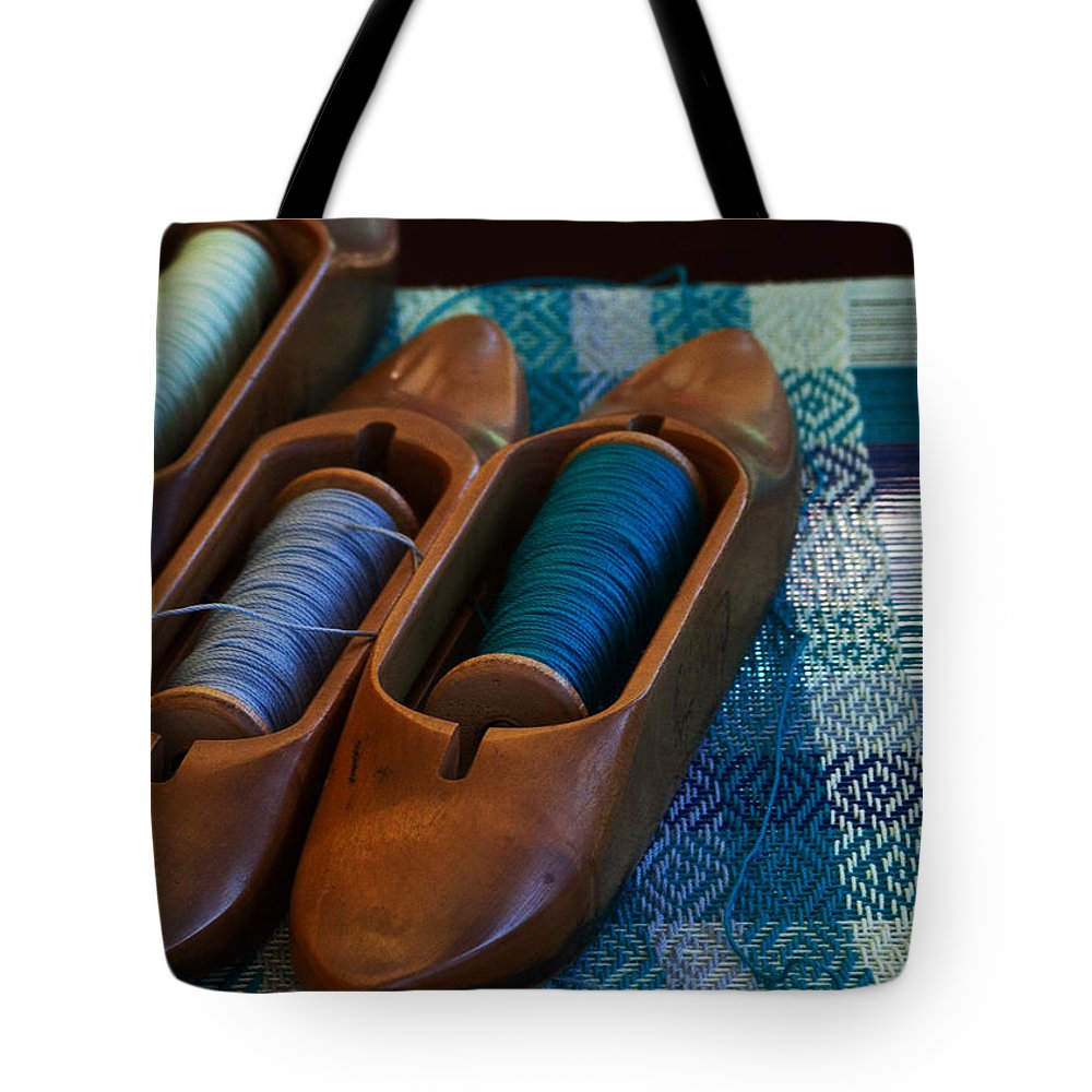 Loom Tote Bag featuring the photograph Shuttlecocks by Guy Shultz