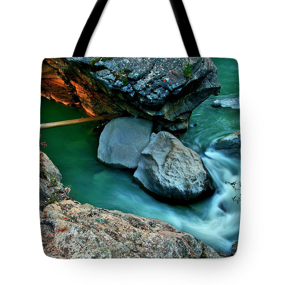 Jeremy Rhoades Tote Bag featuring the photograph Sidewinder by Jeremy Rhoades