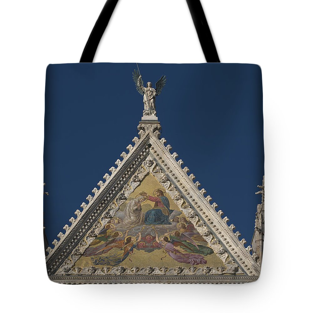 Siena Cathedral Tote Bag featuring the photograph Siena Cathedral by Ayhan Altun
