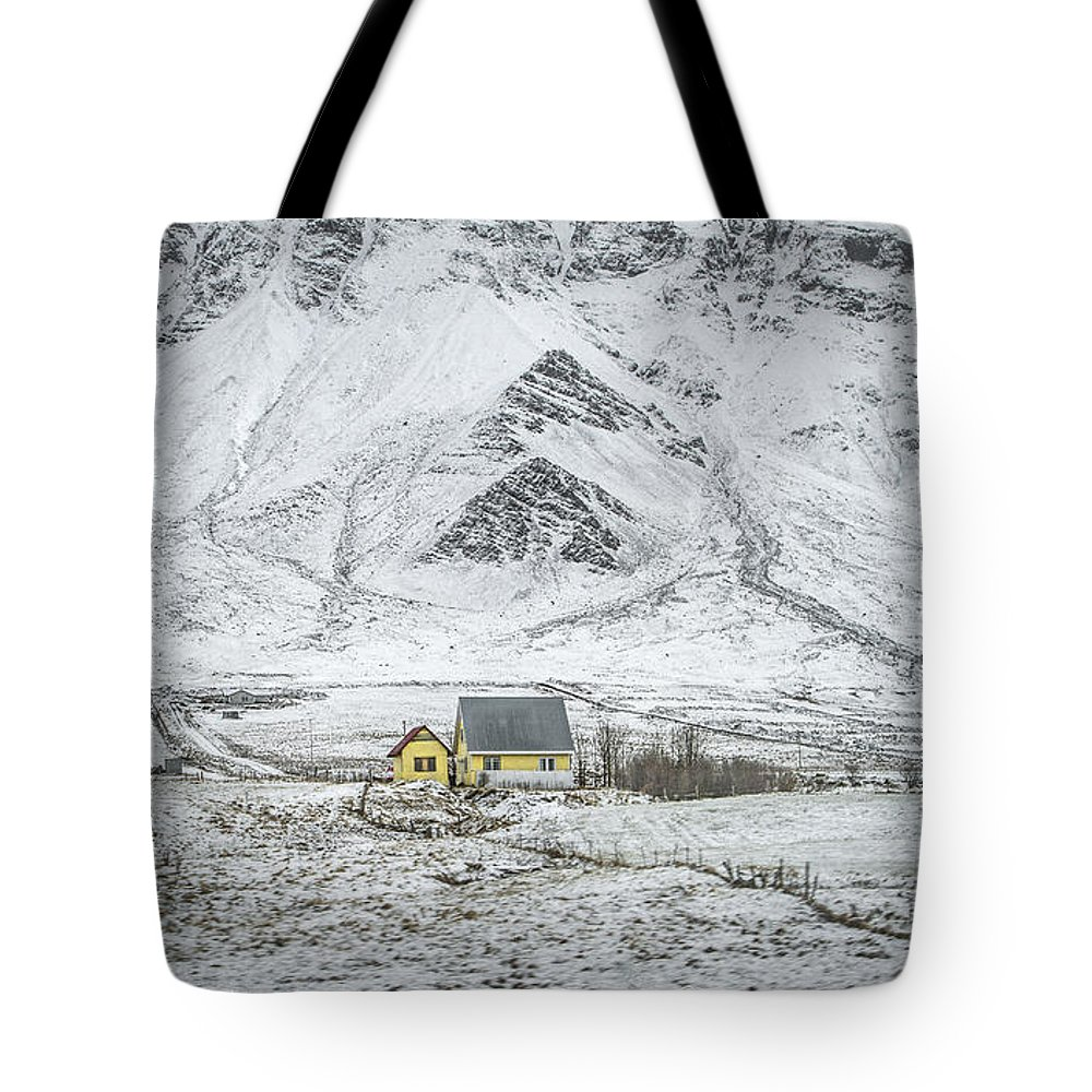 Alone Tote Bag featuring the photograph Signs Of Existence by Evelina Kremsdorf