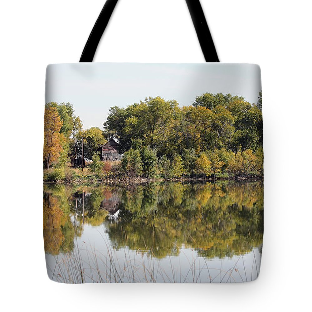 Fall Tote Bag featuring the photograph Silence And Solatuid by Lori Tordsen