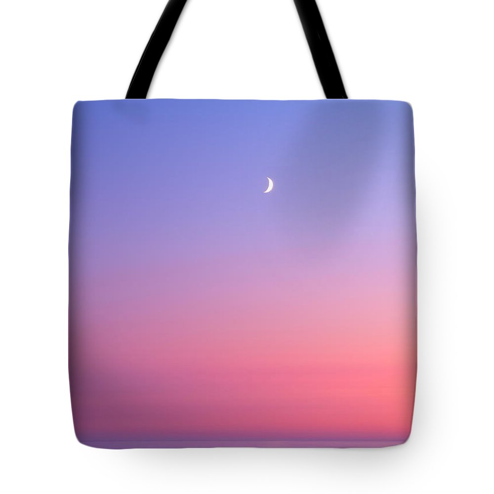Moon Tote Bag featuring the photograph Simplistic Wonders Of The Earth by Darren White