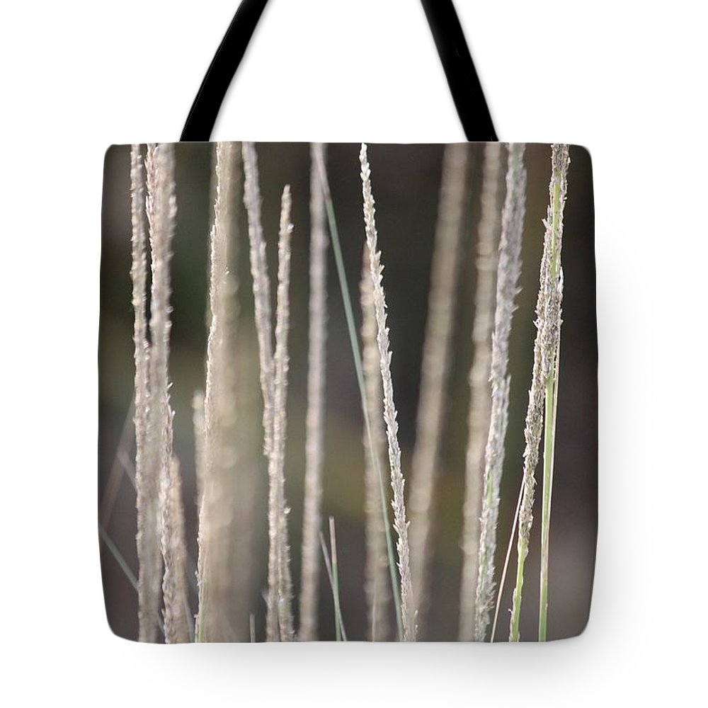 Tall Grass Tote Bag featuring the photograph Simply Pure by Amy Gallagher
