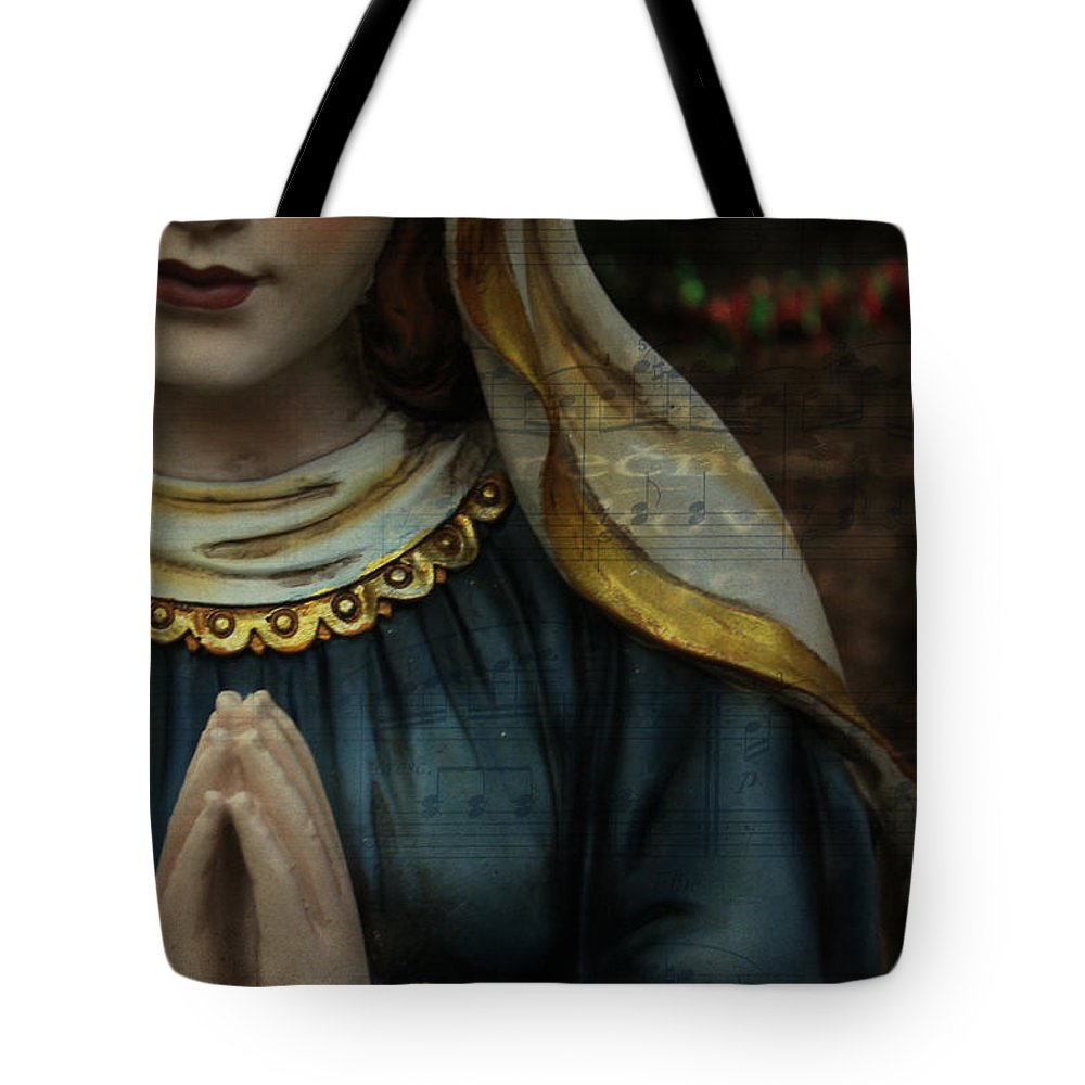 Christmas Tote Bag featuring the photograph Sing Glory by Robin Lewis