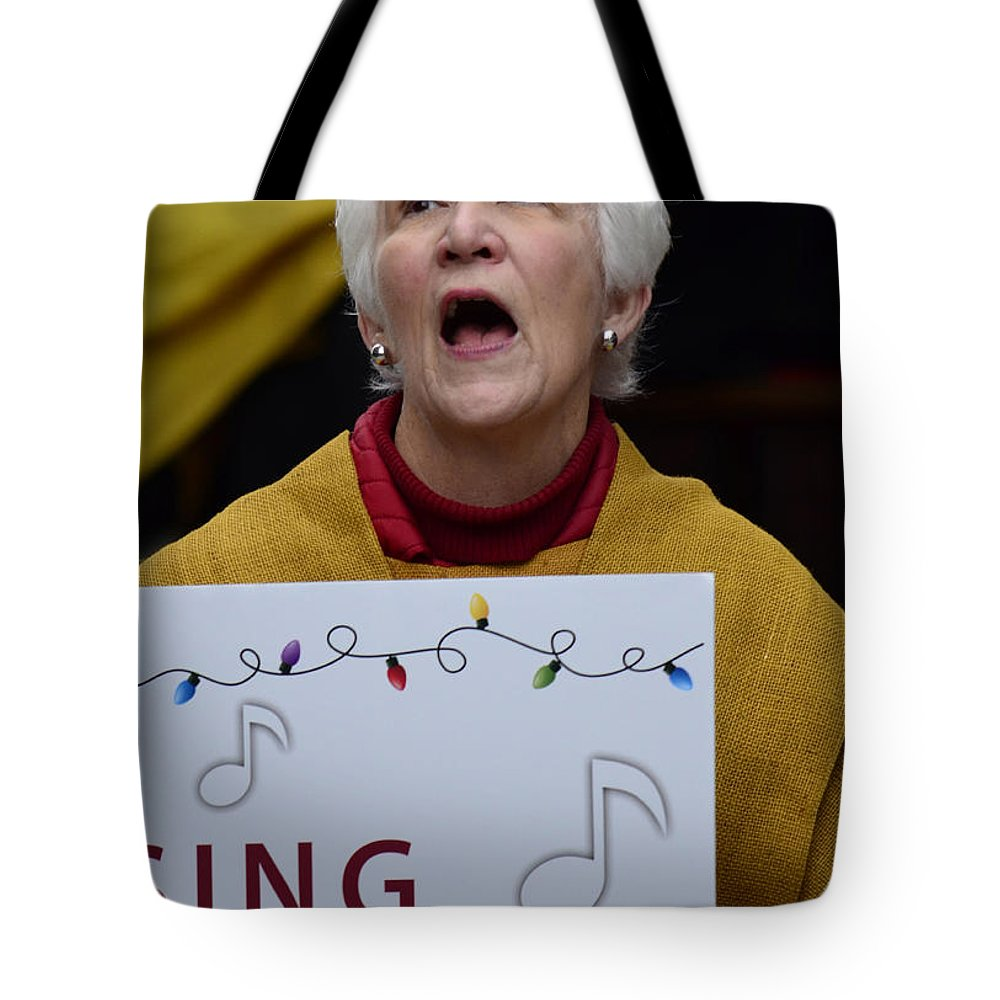 Street Photography Tote Bag featuring the photograph Sing Sing by The Artist Project