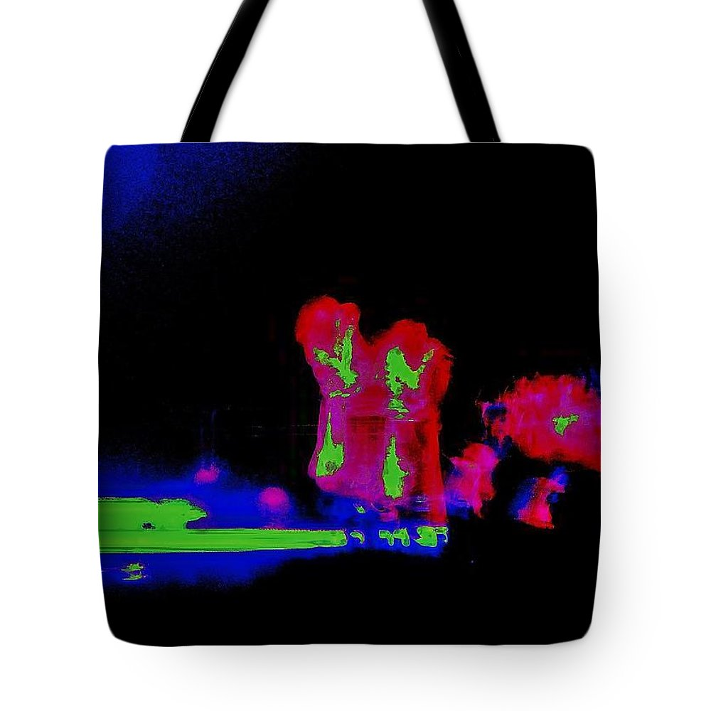 Neon Tote Bag featuring the photograph Sing Your Soul Out by Jenn Beck