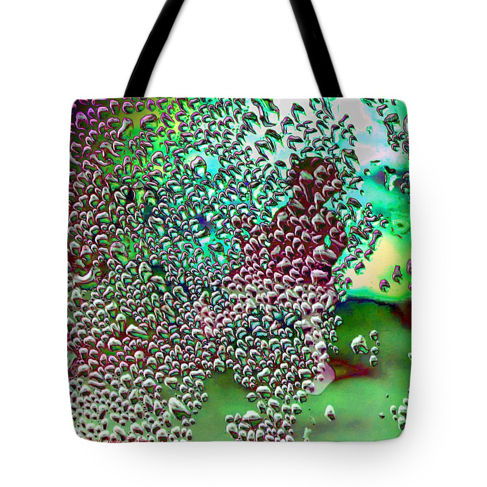 Rain Tote Bag featuring the photograph Singing In The Rain Again by Joyce Dickens