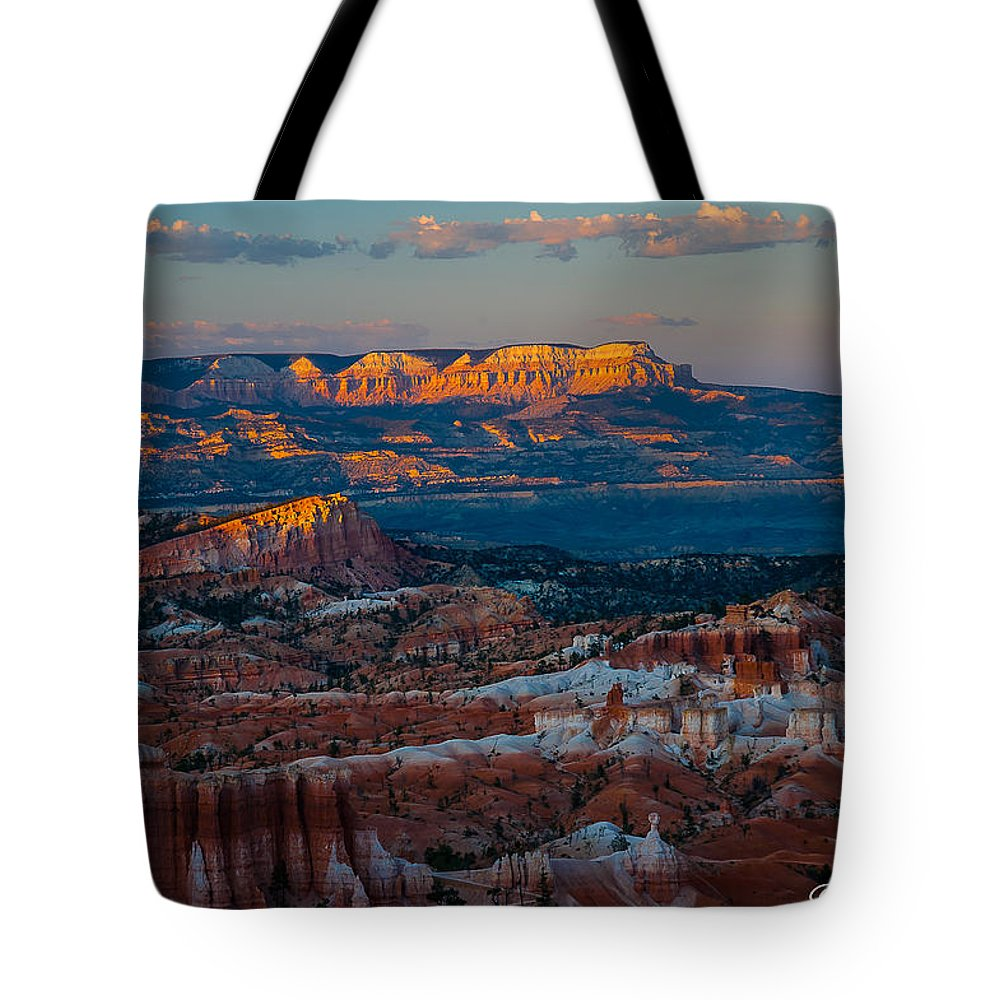 Bryce National Park Tote Bag featuring the photograph Sinking Ship by Joan Wallner