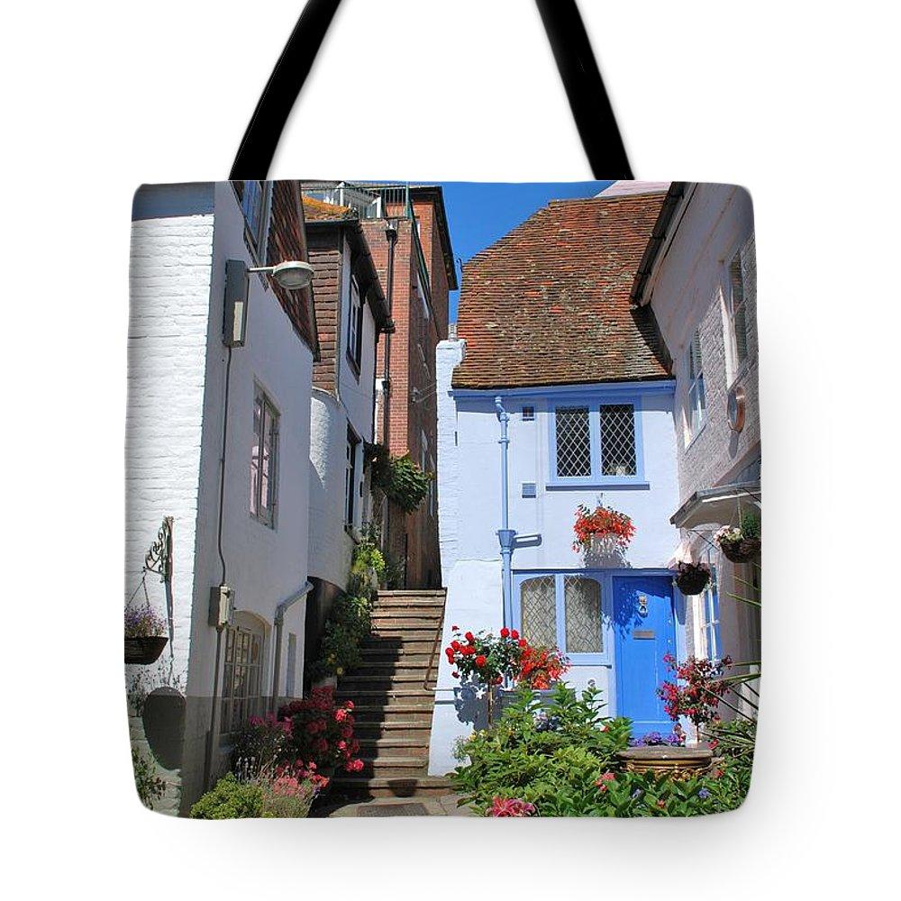 Sinnock Tote Bag featuring the photograph Sinnock Square Hastings by David Fowler
