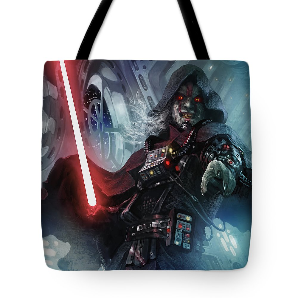 Star Wars Tote Bag featuring the digital art Sith Cultist by Ryan Barger 04755d1fee9de