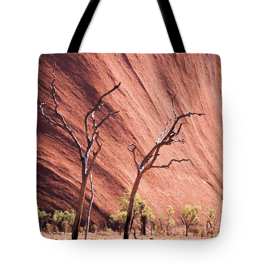 Uluru Tote Bag featuring the photograph Skeleton Trees by Matteo Colombo