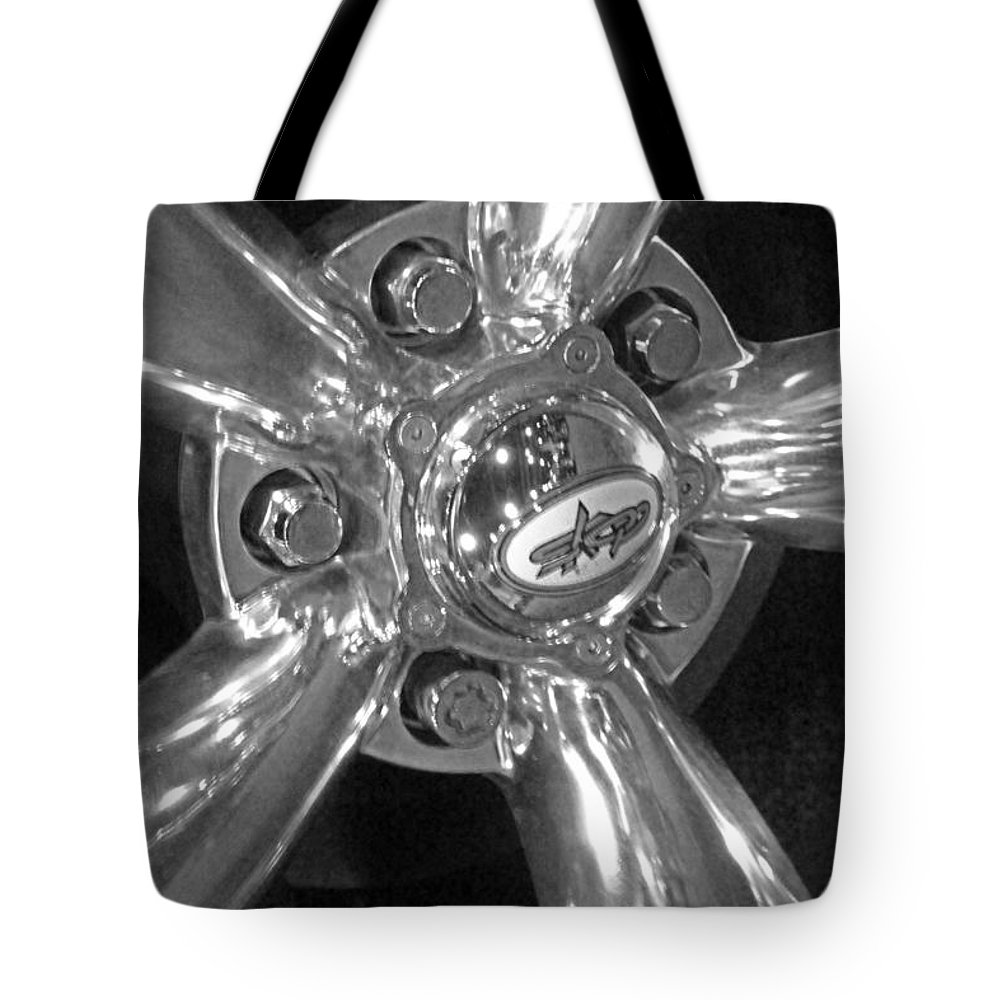 Car Tote Bag featuring the photograph Skop Wheel by Carolyn Stagger Cokley