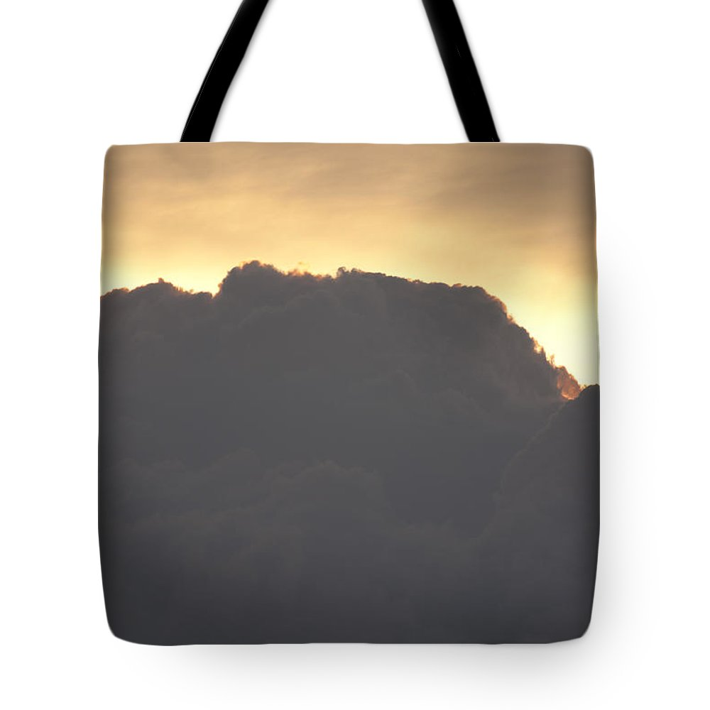 Tote Bag featuring the photograph Sky Mountain by John J Calhoun