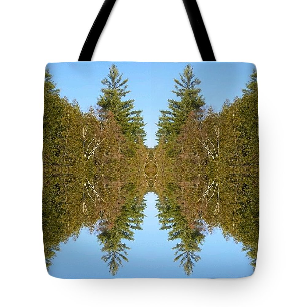 Tote Bag featuring the photograph Sky Pines II by Jon Glynn