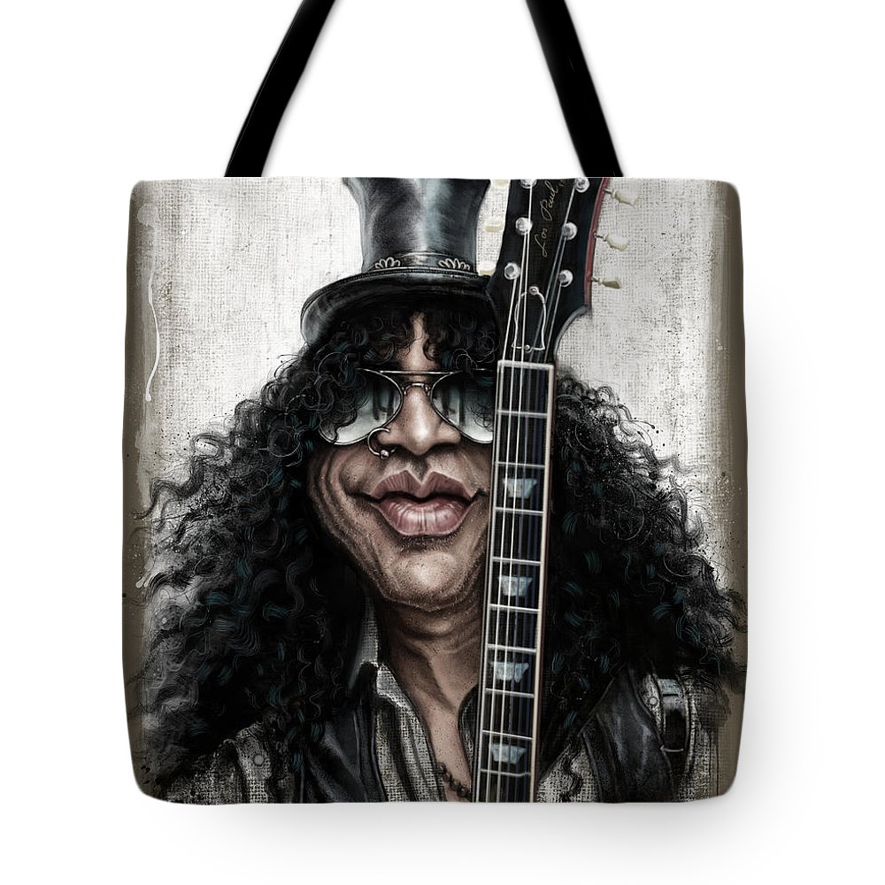 Music Rock Guns N Roses Tote Bags